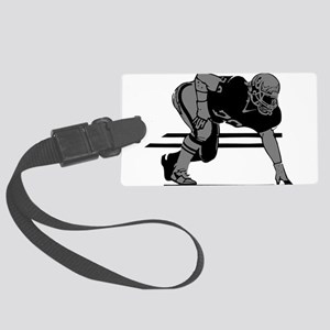 2105862GRAY Large Luggage Tag